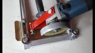 Make A Homemade Circular Saw | Angle Grinder Hack