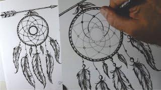 Como desenhar FILTRO DOS SONHOS Tumblr - passo a passo