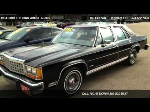 Ford Ltd Crown Victoria Base For Sale In Longmont Co  Youtube