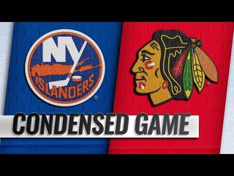01/22/19 Condensed Game: Islanders @ Blackhawks