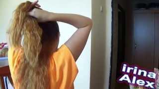 видео Прически с гребнем для волос (фото)