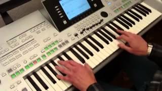 ABBA Dancing Queen игра на синтезаторе PA2X Yamaha Tyros 3