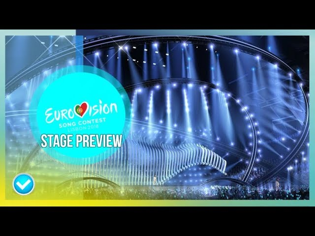 Eurovision 2018- Stage Preview (With Hologram) | 3D Projections #1