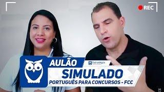 Simulado de Português para Concursos da Banca FCC