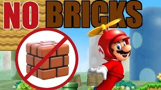 Is It Possible to Beat New Super Mario Bros Wii Without Touching a Single Brick Block?