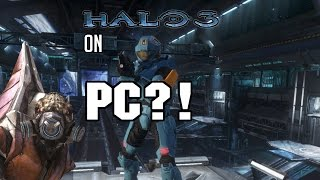 Halo Online/ Halo 3 PC Gameplay