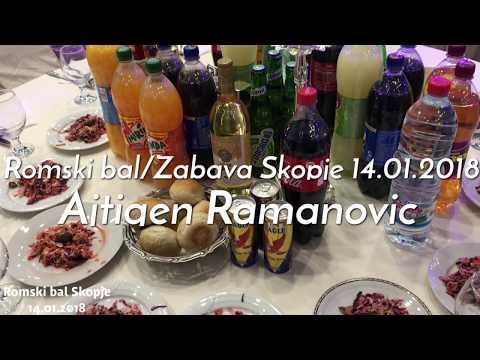 Romski bal/Zabava Skopje 14.01.2018