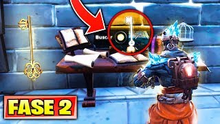 How to UNLOCK THE PRISONER PHASE 2 in FORTNITE SKIN NEVADA SECRET KEY