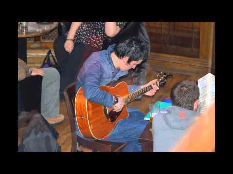 Photographs of Chris performing life in The Establishment Bar