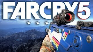 Far Cry 5 UNSTOPPABLE NEW WEAPON! (Far Cry 5 Free Roam) [LIVE EVENT]