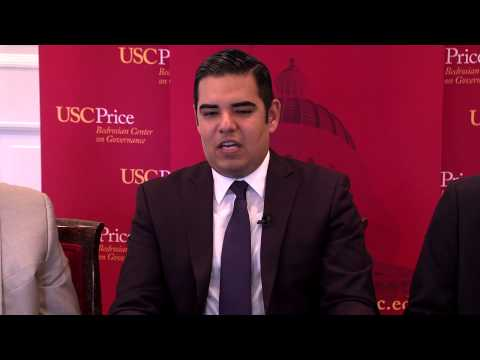 Highlights: Lunch with a Leader: Robert Garcia