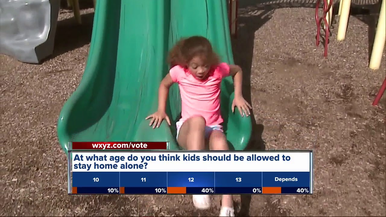 Vote How Old Should Kids Be To Stay Home Alone Youtube