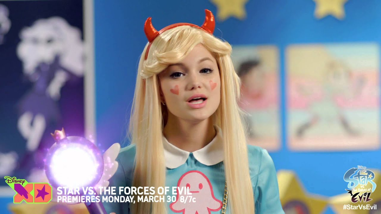 Olivia Holt Introduces Star Vs The Forces Of Evil 10 Clips Youtube