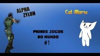 Que merda de jogo ¬¬ #1 Operation Alpha Zylon e Cat Mario