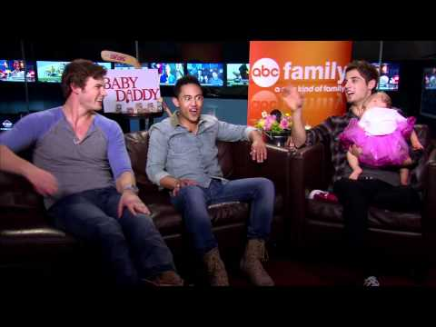 JeanLuc Bilodeau, Derek Theler and Tahj Mowry   Baby Daddy