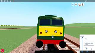 Roblox MTG freight train