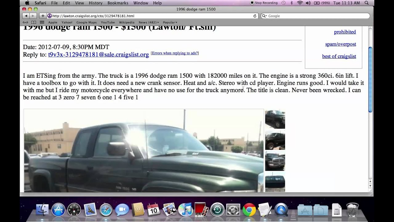 Craigslist Lawton Oklahoma Cars For Sale