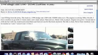 Craigslist Lawton Oklahoma Used Cars and Trucks - For Sale by Private Owner Options