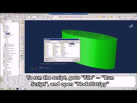 Repeat Abaqus geometric nonlinear example by Advanced FEA