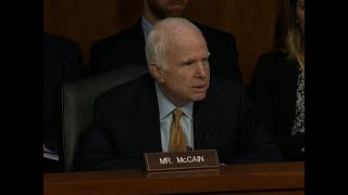 Senator John McCain Fighting Brain Cancer