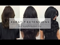 HAIR TRANSFORMATION VLOG: KERATIP EXTENSIONS // ELLEKAE