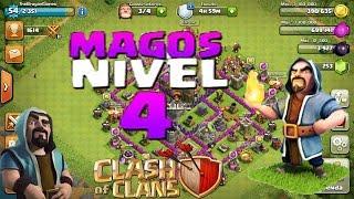 Clash Of Clans - Proximo objetivo MAGO nivel 4   Maximizando TH7