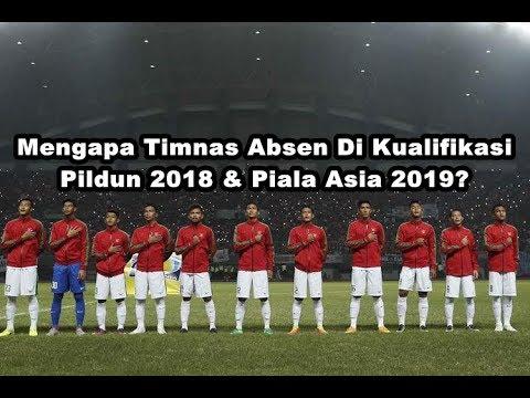 Timnas Indonesia Di Coret Dari Kualifikasi Piala Dunia 2018  Piala Asia 2019  YouTube