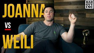 UFC 248: WeiliZhang vsJoannaJedrzecjzyk