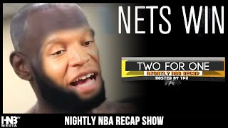 #TWOforONE 8.2.2020: NBA Recap + NETS Win! - TPJ LOSES BET & HAS TO SHAVE HIS HEAD! | NBA Recap