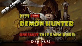 Diablo 3 2.2 - Demon Hunter 7 BILLION DAMAGE! Natalya ONESHOT build! - (Patch 2.2)