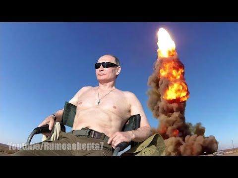 Vladimir Putin Unveils Invincible Nuclear Weapons - Putin Apresenta Armas Nucleares Invencíveis