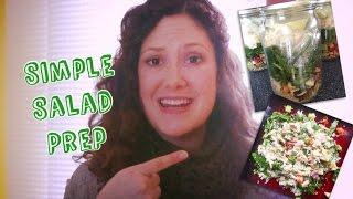 Clean Eating Weekly Meal Prep - Salad In A Jar