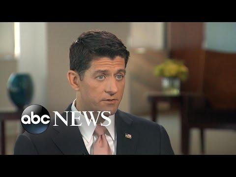 Paul Ryan on Trump's Campaign Behavior