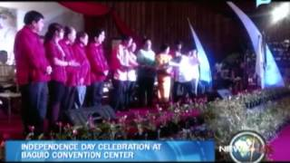NewsLife: Independence Day celebration at Baguio Convention Center