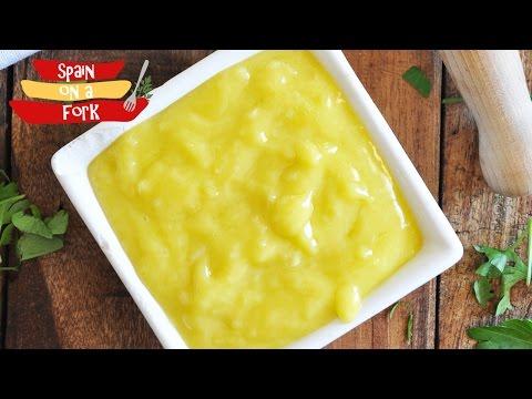 How to make Aioli - Homemade Garlic Mayonnaise