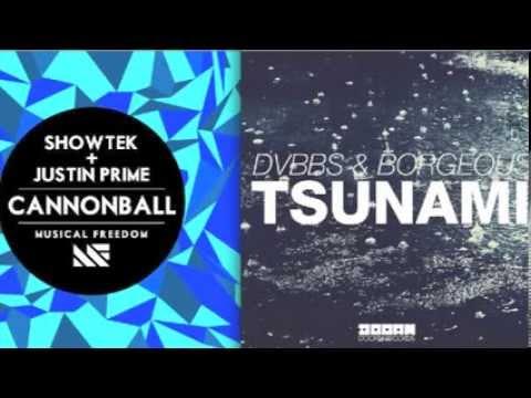 showtek vs dvbbs amp borgeous cannonball tsunami yanni s