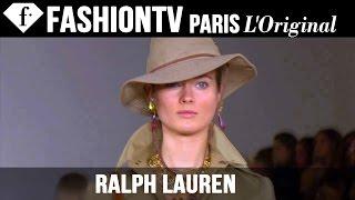 Ralph Lauren Spring/Summer 2015 Runway Show | New York Fashion Week NYFW | FashionTV