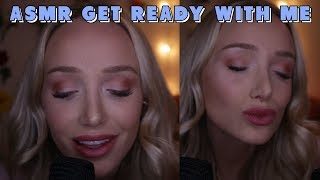 Asmr Doing My Makeup! Trying New Tarte Products (whispers, Lid Sounds, Face Brushing...)
