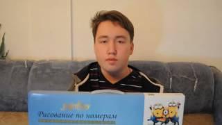 ОБЗОР НА CRAZY BOOK И КАРТИНУ ПО НОМЕРАМ)