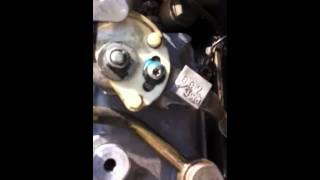 Clio 1.9 d problème pompe injection