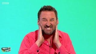 Did BAFTA winner Lee Mack get his head stuck in a set of railings? - Would I Lie to You? [HD][CC]