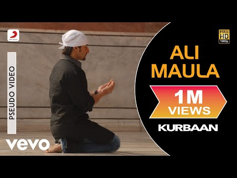 Ali Maula - Official Audio Song | Kurbaan| Salim Sulaiman