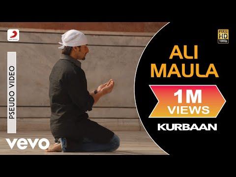 Ali Maula - Official Audio Song | Kurbaan| Salim Sulaiman