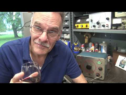 Initial Test Conar Tube Signal Tracer Vintage Test Equipment Demo