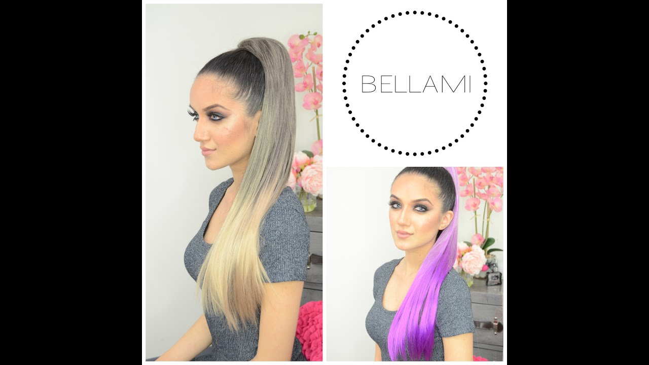 Bellami Clip Wrap Pony Tutorial Youtube