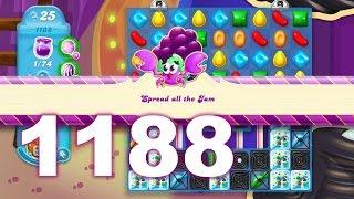 Candy Crush Soda Saga Level 1188 (No boosters)