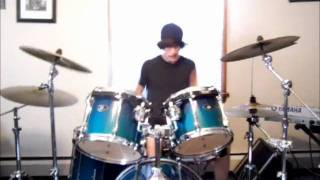 Young, Wild, And Free drum cover