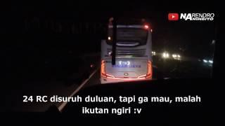 JOSS TENAN!! Konvoi mosak-masik Sinar Jaya 24 RC & 30 RC saat masih solar corr