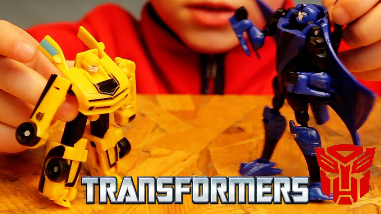 Видео про роботов трансформеров игрушки