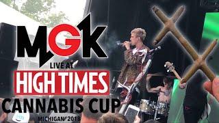 Machine Gun Kelly live at High Times Cannabis Cup Michigan 2018 (FULL SET)